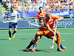 The Hague, Netherlands, June 13: Billy Bakker #8 of The Netherlands in action during the field hockey semi-final match (Men) between The Netherlands and England on June 13, 2014 during the World Cup 2014 at Kyocera Stadium in The Hague, Netherlands. Final score 1-0 (1-0)  (Photo by Dirk Markgraf / www.265-images.com) *** Local caption ***