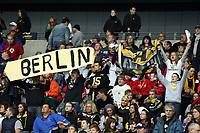 Fans der Berlin Adler<br /> German Bowl XXXI Berlin Adler vs. Kiel Baltic Hurricanes, Commerzbank Arena *** Local Caption *** Foto ist honorarpflichtig! zzgl. gesetzl. MwSt. Auf Anfrage in hoeherer Qualitaet/Aufloesung. Belegexemplar an: Marc Schueler, Alte Weinstrasse 1, 61352 Bad Homburg, Tel. +49 (0) 151 11 65 49 88, www.gameday-mediaservices.de. Email: marc.schueler@gameday-mediaservices.de, Bankverbindung: Volksbank Bergstrasse, Kto.: 151297, BLZ: 50960101