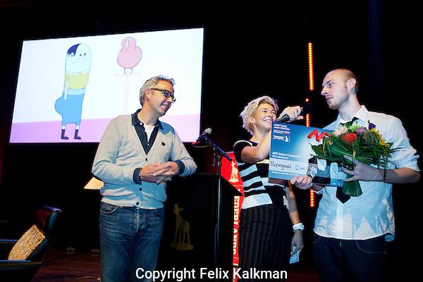 Utrecht, 4 oktober 2012.Nederlands Film Festival 2012, NFF.NFF Online Competitie UPC Publieksprijs:.PAPEGAAI van Peter Lub/Kud site.Foto Felix Kalkman