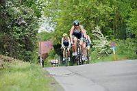 20180501 - DOORNIK , BELGIUM : Triathletes Team SP&O pictured during The Belgian Championship Team Triathlon Man and Women , a Team Triathlon in Doornik , Tuesday 1 st May 2018 , PHOTO SPORTPIX.BE | STIJN AUDOOREN