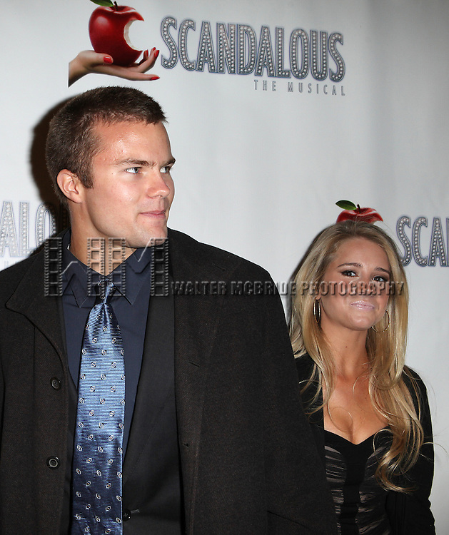 Cody Gifford and Cassidy Erin Gifford attending the Broadway Opening Night Performance After Party for 'Scandalous The Musical' at the Neil Simon Theatre in New York City on 11/15/2012