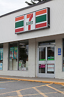 7-Eleven convenience store is pictured in Maine, Sunday June 16, 2013. The brand name 7-Eleven is part of an international chain of convenience stores, operating under Seven-Eleven Japan Co., Ltd., primarily operating as a franchise.