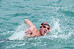 Swimers in action during The Clean Half Open Water Challenge 2012 in Hong Kong on 6 October 2012. Photo by Xaume Olleros / The Power of Sport Images