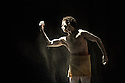 London, UK. 16.12.2014. Rambert present two evenings of new choreography from members of the company, on the 16th and 17th December, at The Place. Picture shows: Dane Hurst in O'DABO, choreographed by himself. Photograph © Jane Hobson.