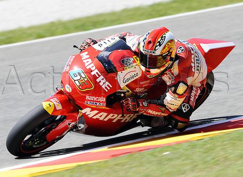 06 06 2010 Mike Tue Meglio FRA Suter. Moto2 class, 600cc spec Honda eninges in prototype chassis. Gran Premio d'Italia TIM, Mugello circuit, Italy.