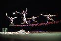 Baden Baden, Germany. 14.06.2013. Cedar Lake Ballet, in NECESSITY, AGAIN, choreographed by Jo Strømgren. Photograph © Jane Hobson, 2013.