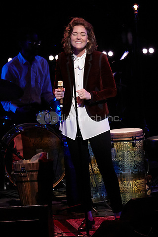 Los Angeles, CA - NOV 07:  Brandi Carlile performs at 'Joni 75: A Birthday Celebration Live At The Dorothy Chandler Pavilion' on November 07 2018 in Los Angeles CA. Credit: CraSH/imageSPACE/MediaPunch