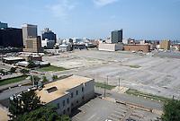 1996 July 31..Redevelopment..Macarthur Center.Downtown North (R-8)..MACARTHUR PROGRESS.LOOKING SOUTHWEST FROM ROTUNDA BUILDING...NEG#.NRHA#..