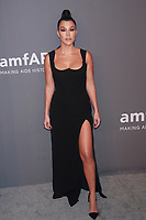 NEW YORK, NY - FEBRUARY 6: Kourtney Kardashian arriving at the 21st annual amfAR Gala New York benefit for AIDS research during New York Fashion Week at Cipriani Wall Street in New York City on February 6, 2019. <br /> CAP/MPI99<br /> &copy;MPI99/Capital Pictures