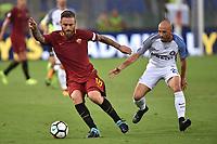 Daniele De Rossi Roma, Borja Valero Inter <br /> Roma 26-08-2017 Stadio Olimpico Calcio Serie A AS Roma - Inter Foto Andrea Staccioli / Insidefoto