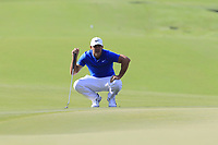 Brooks Koepka (USA) on the 14th green during Thursday's Round 1 of the 2017 PGA Championship held at Quail Hollow Golf Club, Charlotte, North Carolina, USA. 10th August 2017.<br /> Picture: Eoin Clarke | Golffile<br /> <br /> <br /> All photos usage must carry mandatory copyright credit (&copy; Golffile | Eoin Clarke)