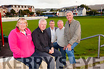 Launching Tralee Dynamos Mass at the Low Field on Friday 28th August at 7pm were front l-r Sheila Fitzgerald, T C Counihan, back l-r Cllr Pa Daly, Francis Boyle and  Joe Flynn