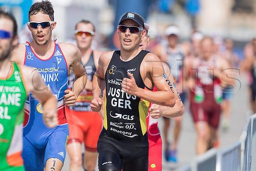 05.03.2016. Abu Dhabi, UAE. 2016 ITU Abu Dhabi World Triathlon.  Steffen Justus