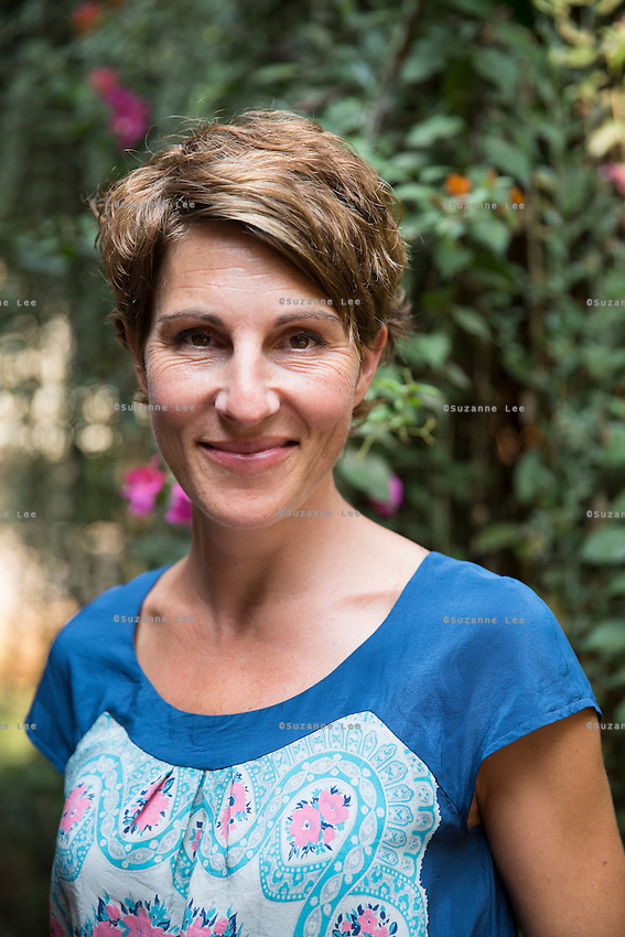 Tamsin Greig, an actress from the United Kingdom, visits a Tearfund program in Mumbai, Maharashtra, India on 20 February 2014. Tamsin Greig is a successful actress and a good friend of Tearfund. Tamsin is well known for her roles in TV series Episodes, Jackie Goodman in Friday Night Dinner for Channel 4, People Like Us, Black Books, and many more. Tamsin won a BAFTA nomination and received The Royal Television Award for Best Comedy performance for her performance as Dr Caroline Todd in Green Wing. Tamsin has visited Tearfund partners and projects in Democratic Republic Congo and Rwanda, and supports many of Tearfund initiatives. Photo by Suzanne Lee/Tearfund