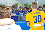 Krefeld, Germany, May 19: During the Final4 Gold Medal fieldhockey match between Uhlenhorst Muelheim and Mannheimer HC on May 19, 2019 at Gerd-Wellen Hockeyanlage in Krefeld, Germany. (worldsportpics Copyright Dirk Markgraf) ***