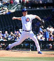 Alec Mills - Chicago Cubs 2020 spring training (Bill Mitchell)