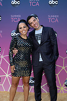 LOS ANGELES - AUG 15:  Amirah Vann, Conrad Ricamora at the ABC Summer TCA All-Star Party at the SOHO House on August 15, 2019 in West Hollywood, CA