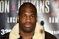 Daniel Dubois during a Press Conference at The Gore Hotel on 6th March 2019