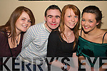 Having a ball at the Back to Banna Night in aid of Bouleenshere N.S. held in The Banna Beach Hotel on Saturday night were l/r Aileen Corridon, Pa Egan, Emma Horgan and Aine O'Halloran.......................................................................................................................................... ............