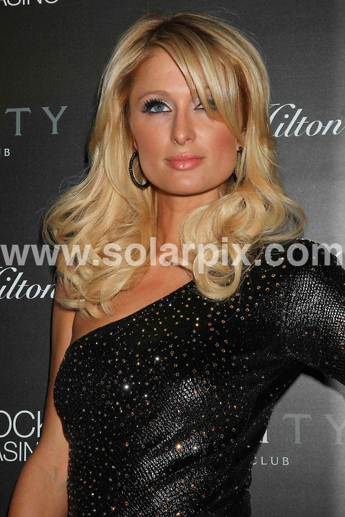 **ALL ROUND PICTURES FROM SOLARPIX.COM**.**SYNDICATION RIGHTS FOR UK, AUSTRALIA, DENMARK, PORTUGAL, S. AFRICA, SPAIN & DUBAI (U.A.E) ONLY**.Paris Hilton Launches ParisHilton.com at Vanity Nightclub in Las Vegas, USA. 16 January 2010..This pic: Paris Hilton..JOB REF: 10480 PHZ PRN   DATE: 16_01_2010.**MUST CREDIT SOLARPIX.COM OR DOUBLE FEE WILL BE CHARGED**.**MUST NOTIFY SOLARPIX OF ONLINE USAGE**.**CALL US ON: +34 952 811 768 or LOW RATE FROM UK 0844 617 7637**