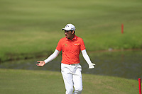 Phachara Khongwatmai (THA) in action on the 6th during Round 4 of the Maybank Championship at the Saujana Golf and Country Club in Kuala Lumpur on Saturday 4th February 2018.<br /> Picture:  Thos Caffrey / www.golffile.ie<br /> <br /> All photo usage must carry mandatory copyright credit (&copy; Golffile | Thos Caffrey)