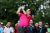 4th June 2017, Dublin, OH, USA;  Phil Mickelson tees off on the first hole during the Memorial Tournament - Final Round on June 04, 2017 at Muirfield Village Golf Club in Dublin, Ohio