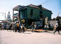 Images of the capital,Port au Prince, Haiti 1975