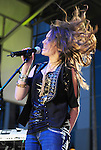 Jasmine Sagginario was the opening act for Justin Bieber who performed a free holiday concert at Citadel Outlets in Los Angeles, California on December 14,2009                                                                   Copyright 2009 DVS / RockinExposures