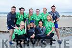 At the Banna Beach Beast Challenge on Saturday were front l-r Lisa Conway, Abby Sheridan, Ciara Sheridan, Stephanie Horan, Back l-r Robert Powell, Lisa Coffey, Nicola Horan, Amanda Burke, Caroline Diggett, Dermot Barry