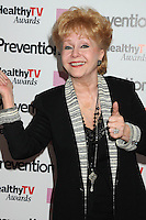 """28 December 2016 - Debbie Reynolds, the Oscar-nominated """"Singin' in the Rain,""""  singer-actress who was the mother of late actress Carrie Fisher, has died. She was 84. """"She wanted to be with Carrie,"""" her son Todd Fisher told Variety. She was taken to the hospital from Todd Fisher's Beverly Hills house Wednesday after a suspected stroke, the day after her daughter Carrie Fisher died. File Photo: 27 September 2011 - Beverly Hills, California - Debbie Reynolds. Prevention Magazine Presents the Inaugural """"Prevention Healthy TV Awards"""" held at The Paley Center for Media. Photo Credit: Byron Purvis/AdMedia"""