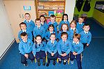Junior infants from Dromtrasna NS who began their school  journey on September 1st, pictured f l-r: John O'Connor, Sadhbh Horgan, Jemma Collins, Sarah O'Kelly, Tomás Fitzgerald. M l-r: Jack O'Connor, Rhys Stack, Eppie Keogh, Lauren Sheehan, Ciara Wynne, Joseph Lenihan. B l-r: Jamie McAuliffe, Emma O'Rourke, Daniel McCarthy, Ailbhe Denisson and Benjamin Leahy.