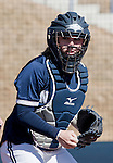 March 7, 2012:   Nevada Wolf Pack catcher Ashley Butera against the Sacramento State Hornets during their NCAA softball game played at Christina M. Hixson Softball Park on Wednesday in Reno, Nevada.