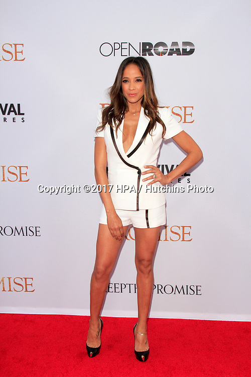 """LOS ANGELES - APR 12:  Dania Ramirez at the """"The Promise"""" Premiere at the TCL Chinese Theater IMAX on April 12, 2017 in Los Angeles, CA"""