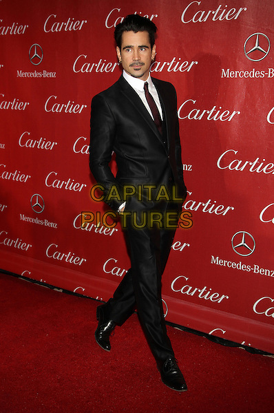 PALM SPRINGS, CA - JANUARY 4: Colin Farrell at 25th Annual Palm Springs International Film Festival Film Awards Gala on  January 4, 2014 at Palm Springs Convention Center, California. Credit: RTNUPA/MediaPunch Inc.<br /> CAP/MPI/JO<br /> &copy;Janice Ogata/MPI/Capital Pictures