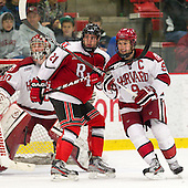 Mark McGowan (RPI - 21), Danny Biega (Harvard - 9) - The Harvard University Crimson defeated the visiting Rensselaer Polytechnic Institute Engineers 4-0 (EN) on Saturday, November 10, 2012, at Bright Hockey Center in Boston, Massachusetts.