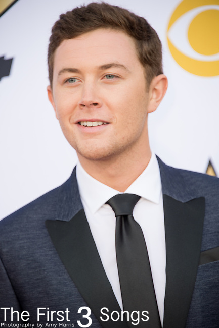Scotty McCreery attends the 50th Academy Of Country Music Awards at AT&T Stadium on April 19, 2015 in Arlington, Texas.