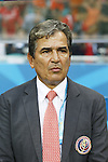 Jorge Luis Pinto (CRC), JULY 5, 2014 - Football / Soccer : FIFA World Cup Brazil 2014 quarter-finals match between Netherlands 0(4-3)0 Costa Rica at Arena Fonte Nova stadium in Salvador, Brazil.<br /> (Photo by AFLO)