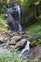 Anna Ruby Falls, Chattahoochee National Forest, Georgia.