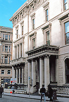 Glasgow: The  (Former) Western Club, 147 Buchanan St. , 1839-42; David and James Hamilton. Photo '90.