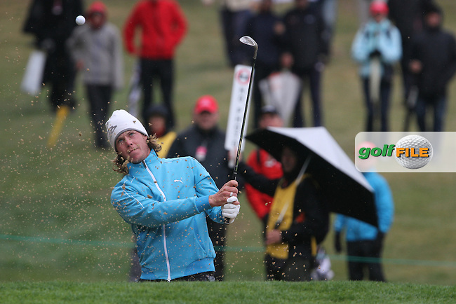 Kristoffer Broberg (SWE) on the 11th on Day 2 of the Omega European Masters 2012, Golf Club Crans-Sur-Sierre, Crans Montana, Switzerland, 31/8/12...(Photo Jenny Matthews/www.golffile.ie)