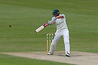 Joe Clarke in batting action for Worcestershire during Worcestershire CCC vs Essex CCC, Specsavers County Championship Division 1 Cricket at Blackfinch New Road on 12th May 2018