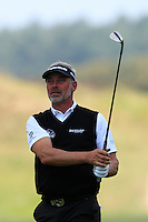 Darren Clarke (NIR) on the 9th during Round 2 of the KLM Open at Kennemer Golf &amp; Country Club on Friday 12th September 2014.<br /> Picture:  Thos Caffrey / www.golffile.ie