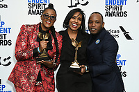 08 February 2020 - Santa Monica - Fredrica Bailey, Stefon Bristol. 2020 Film Independent Spirit Awards - Press Room held at Santa Monica Pier. Photo Credit: Birdie Thompson/AdMedia
