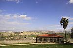 Israel, Jordan valley, the dining romm in Old Gesher