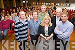 John Ivory, Hillary Fleming, Matt O'Neill, Noreen O'Riordan, John O'Riordan and James Cahill pictured at the meeting regarding the biomass project proposed for Killarney, at the Heights Hotel, Killarney on Tuesday night.....................................................................