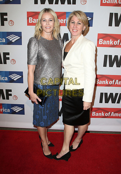 25 October 2017 - Hollywood, California - Chelsea Handler, Sharon Waxman. International Women's Media Foundation 2017 Courage in Journalism Awards. <br /> CAP/ADM/FS<br /> &copy;FS/ADM/Capital Pictures
