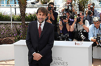 CPE/Jury members fashion designer Jean-Paul Gautier, director Alexander Payne, President of the Jury Director Nanni Moretti, director Raoul Peck and actor Ewan McGregor pose at the Feature Film Jury Photocall during the 65th Annual Cannes Film Festival at Palais des Festivals on May 16, 2012 in Cannes, France. © Crystal/News Pictures/MediaPunch Inc.. ..