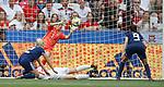 09.06.2019 England v Scotland Women: Lee Alexander saves from Ellen White
