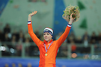 SPEED SKATING: STAVANGER: Sørmarka Arena, 29-01-2016, ISU World Cup, Podium 1000m Ladies Division A, Jorien ter Mors (NED), ©photo Martin de Jong