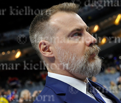 Friday, 5 May, 2017,Lanxess Arena , Cologne/GER<br /> IIHF World Hockey Championship 2017<br /> SWE  vs  RUS<br /> Sweden`s headcoach RIKARD GR&Ouml;NBORG